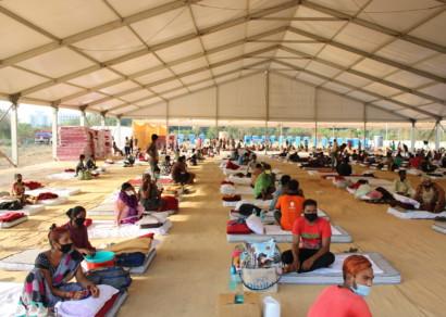 Corona times: A camp that cares during corona crisis