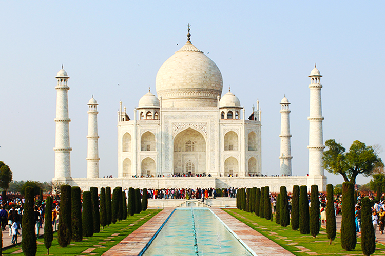 It would be a while before even the Taj Mahal, the most popular tourism site in the country will start attracting tourists