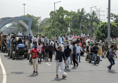 Farmers across India on streets in Bharat Bandh against Farm Bills