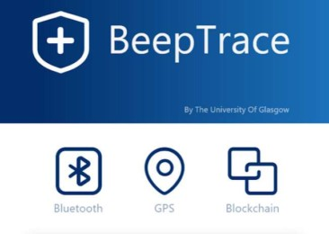 BeepTrace: Solution to privacy issues in Covid19 contact tracing
