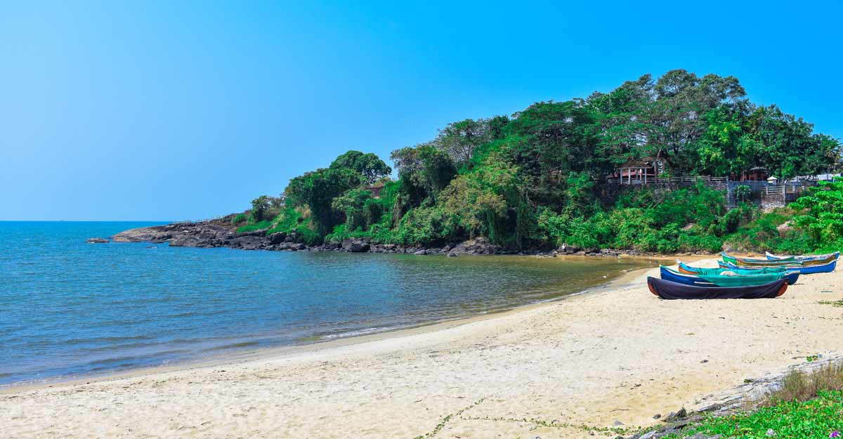 Lazying on the Blue Flag certified beaches in India