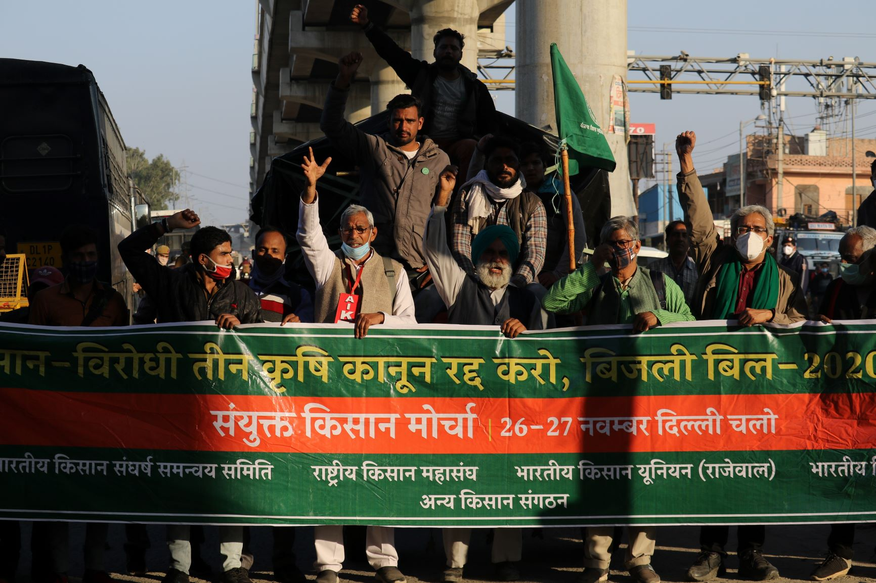Indian diaspora supports farmers' protest in India