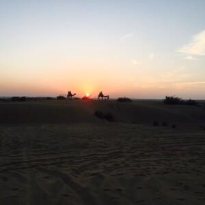 The golden clouds of Jaisalmer