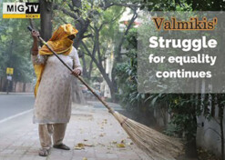 Valmiki community's struggle for equality continues