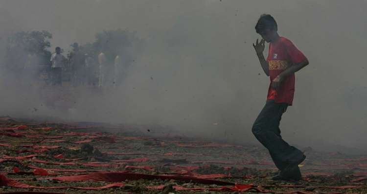 With Diwali approaching, air pollution levels shoot up