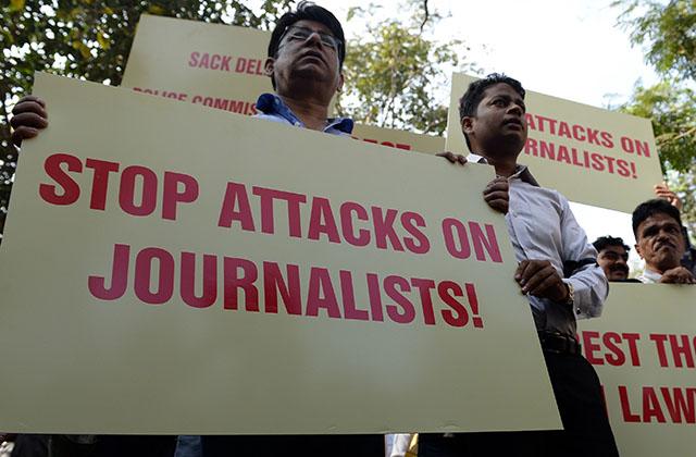 Between Covid-19, censorship & criminals, Indian media struggles to survive