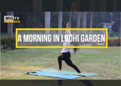 A morning in Lodhi Garden