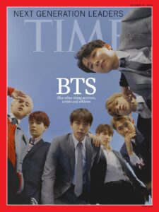BTS on time magazine