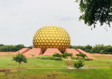 Utopian aura of Auroville