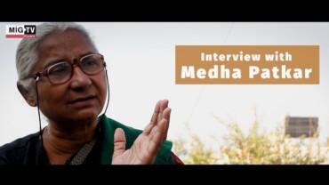 Medha Patkar on farmers' protest