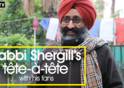 Rabbi Shergill's tête-à-tête with his fans
