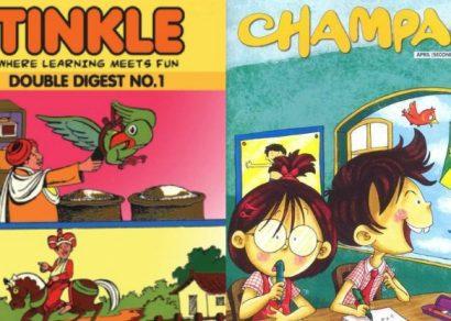 Of Chacha Chaudhary, Champak & childhood