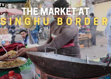 Vendors at Singhu border market support farmers despite disruptions