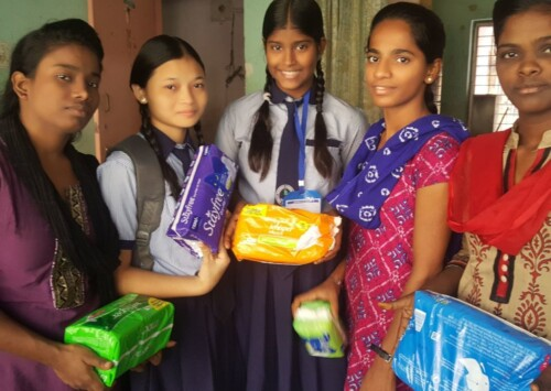 Stain of period poverty in India