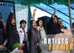 Artists' day out at Tikri border in support of farmers' protest