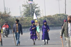 Nihang in farmers protest