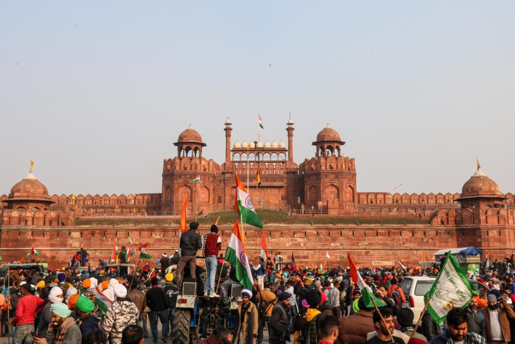 violence at red fort