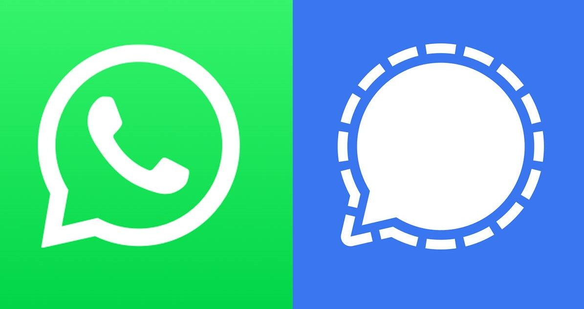 A Signal to exit WhatsApp
