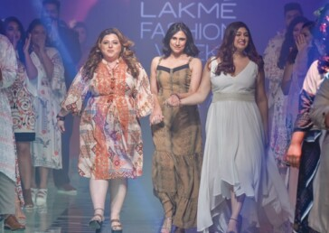 Pretty & plucky but not 'plus size' models