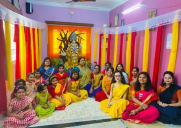 Saraswati Puja amid pandemic
