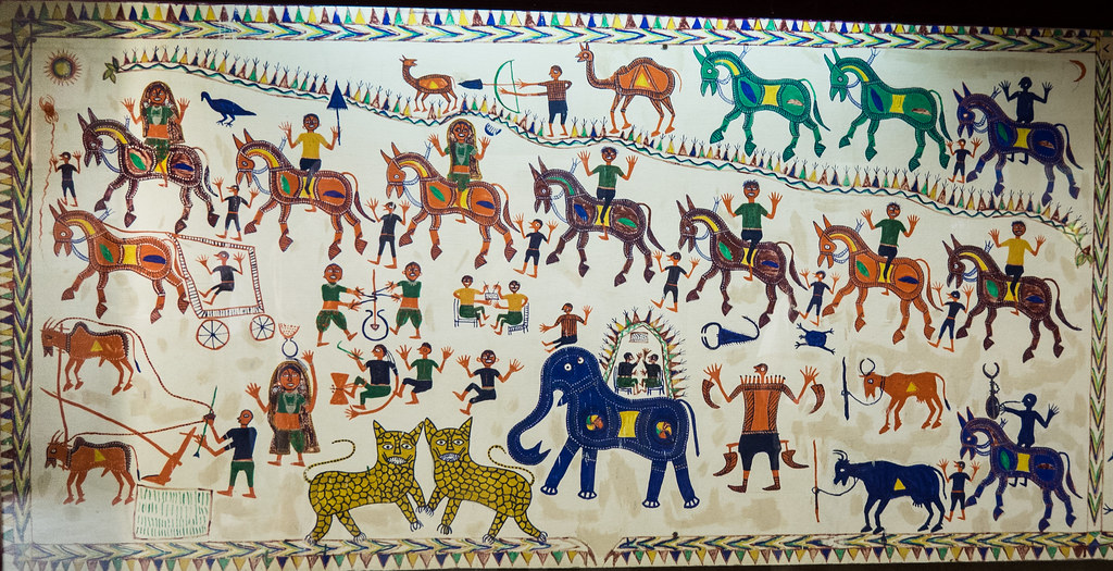 Pithora art: Depicting different hues of tribal life