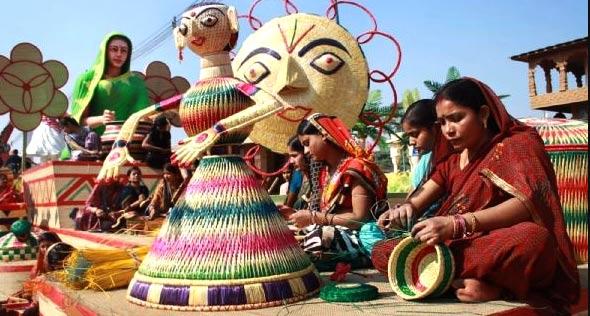 Sikki craft: Art made of golden grass in Bihar