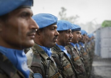 India donates Covid19 vaccines for UN Peacekeeping Force