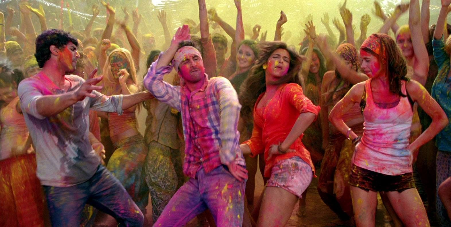 Different colours of Holi on silver screen