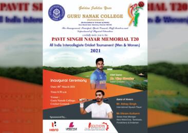 Guru Nanak College all set to host 7th Pavit Singh Nayar Memorial Intercollegiate T20