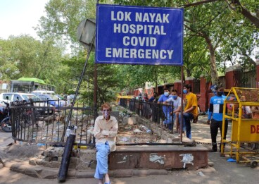 Second wave of coronavirus renders hospitals in Delhi hopeless