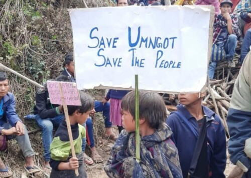 Waves of protest over dam on Umngot river in Meghalaya