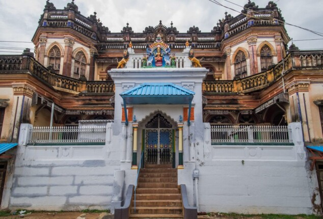 Magnificent mansions of Chettinad