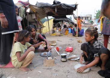 Pandemic heaps more hardship on street children