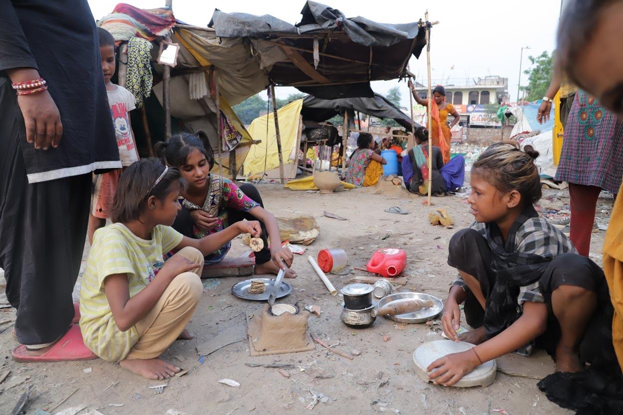 Pandemic heaps more hardship on street children