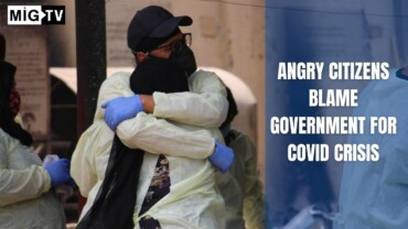 Angry Citizens Blame Government For Covid Crisis, New Delhi, 2021
