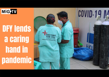 DFY lends a caring hand in pandemic, Covid-19, New Delhi