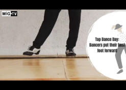 Tap Dance Day: Dancers put their best foot forward
