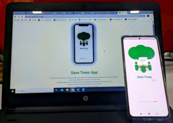 App to help people save trees