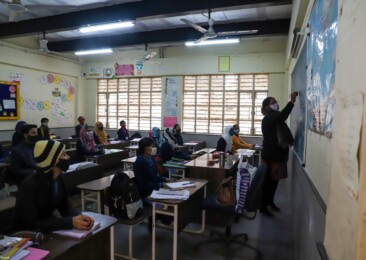 Amidst large-scale dropouts due to Covid-19, saffronisation tops BJP agenda