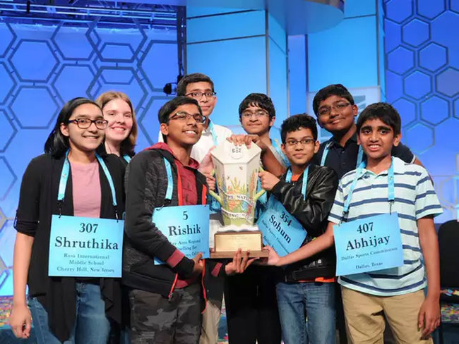 Indian Americans' hegemony in Spelling Bee contests