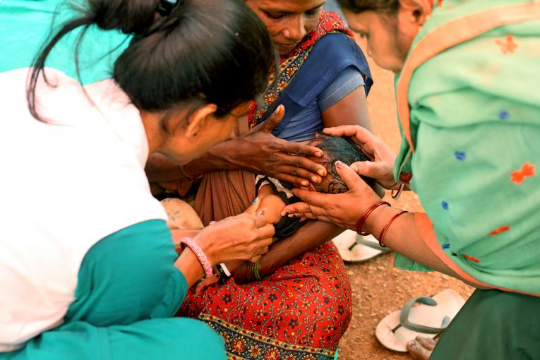WHO alarmed over disruption of children's routine vaccination