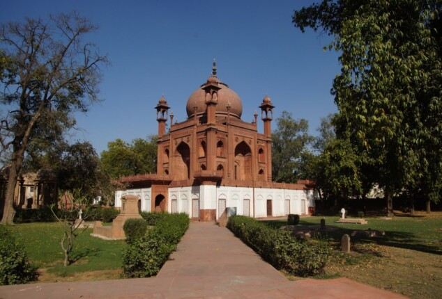 The Red Taj: With love, from Anne