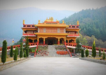 The calm and peace of Dirang