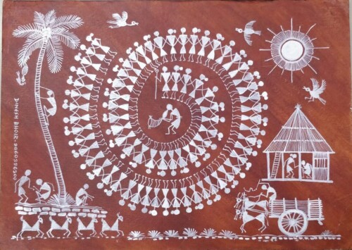 Warli Art: Journey from walls of tribal homes to household goods