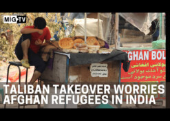 Taliban takeover worries Afghan refugees in India