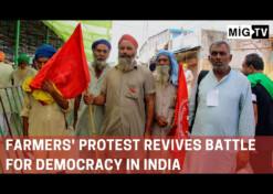 Farmers' protest revives battle for democracy in India