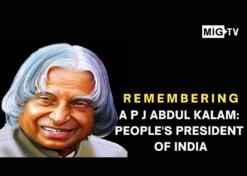 Remembering APJ Abdul Kalam: People's President of India